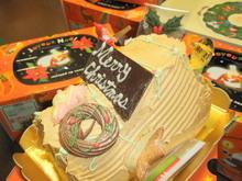 ビュッシュ・ド・ノエル(クリスマスケーキ)のイメージ