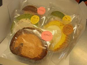 ロールケーキのセットのイメージ